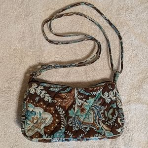Retired Java Blue Vera Bradley Mini Purse